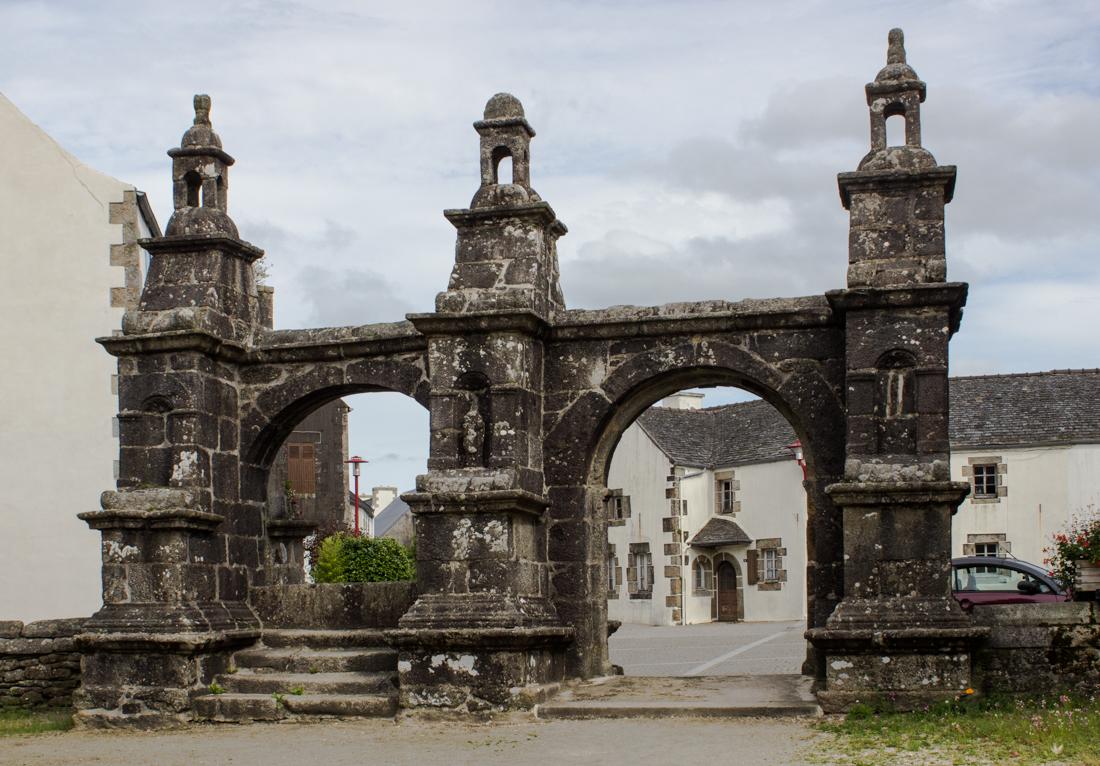 The Triumphal Arch of St Yves, Plouneour-Menez