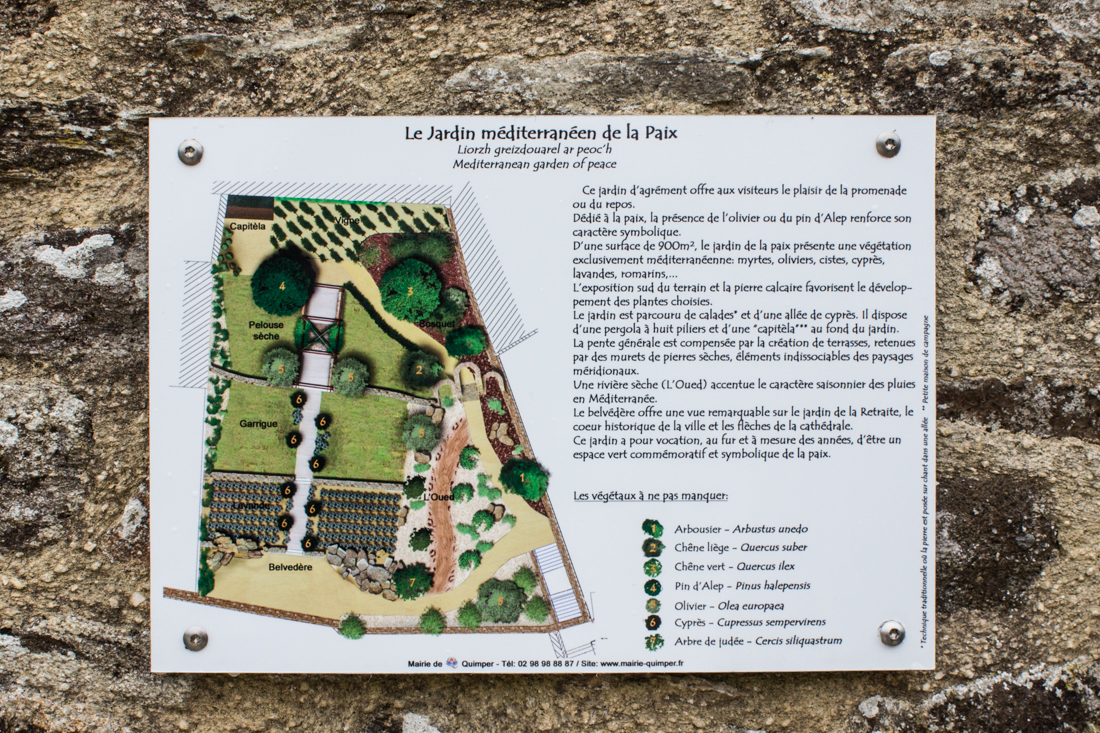 The Garden of Peace, Quimper