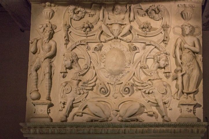 16C Alabaster work from Nottingham, Chateau of Kerjean