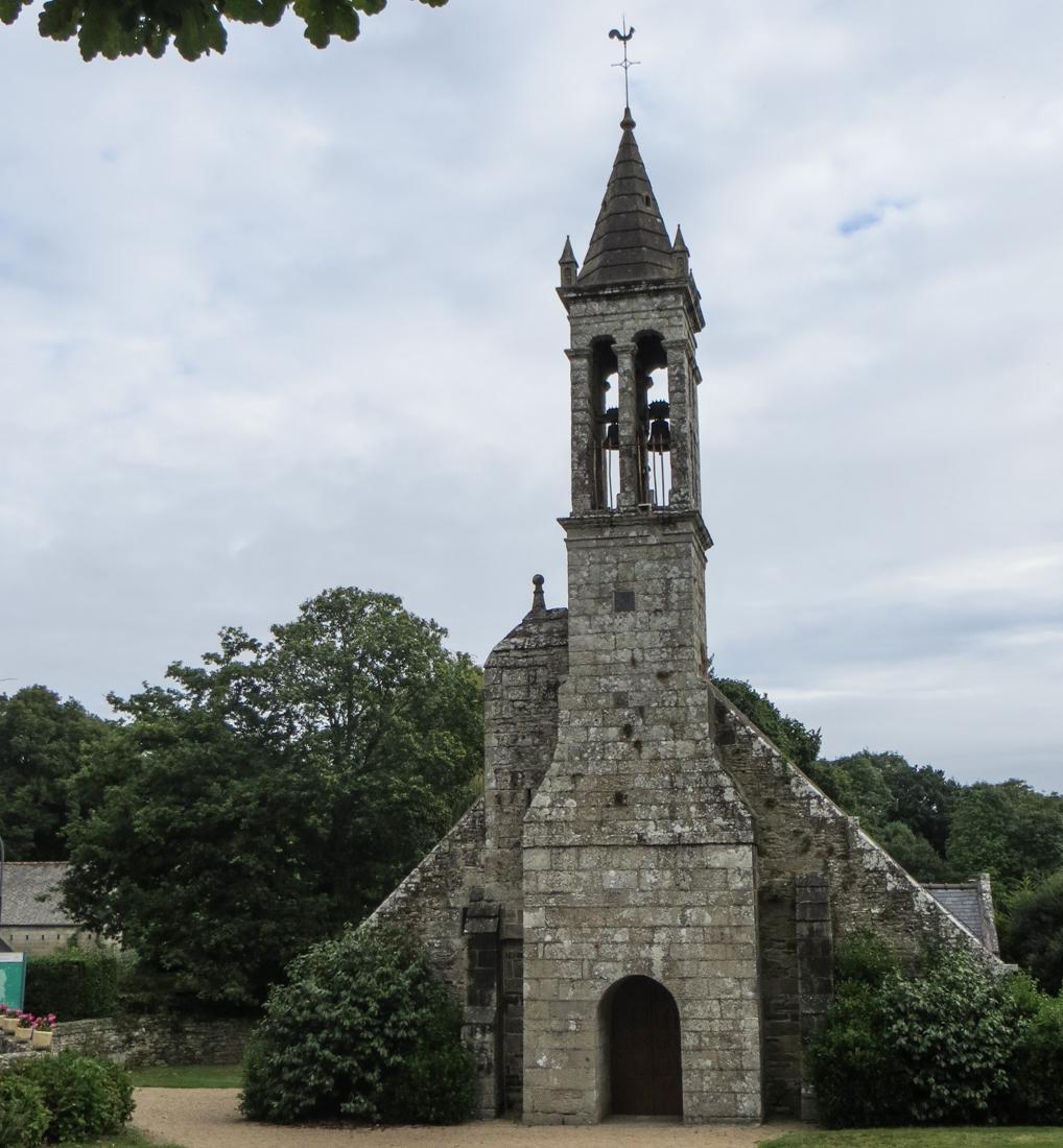 The Church of Bonne Nouvelle, Locmaria Berrien