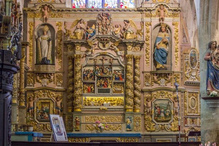 The Altar piece of the Passion, 17C, Notre Dame de Lampaul-Guimiliau