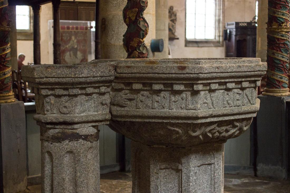 The Baptistry, Notre Dame de Lampaul-Guimiliau