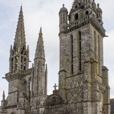 The Church of St Germain of Auxerre at Pleyben