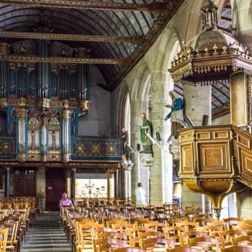 Inside St Germain d'Auxerre, Pleyben