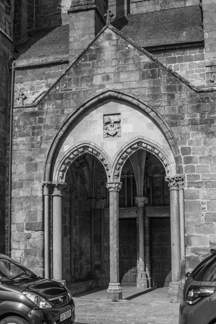 The little porch of the Cathedral of St Samson, Dol de Bretagne