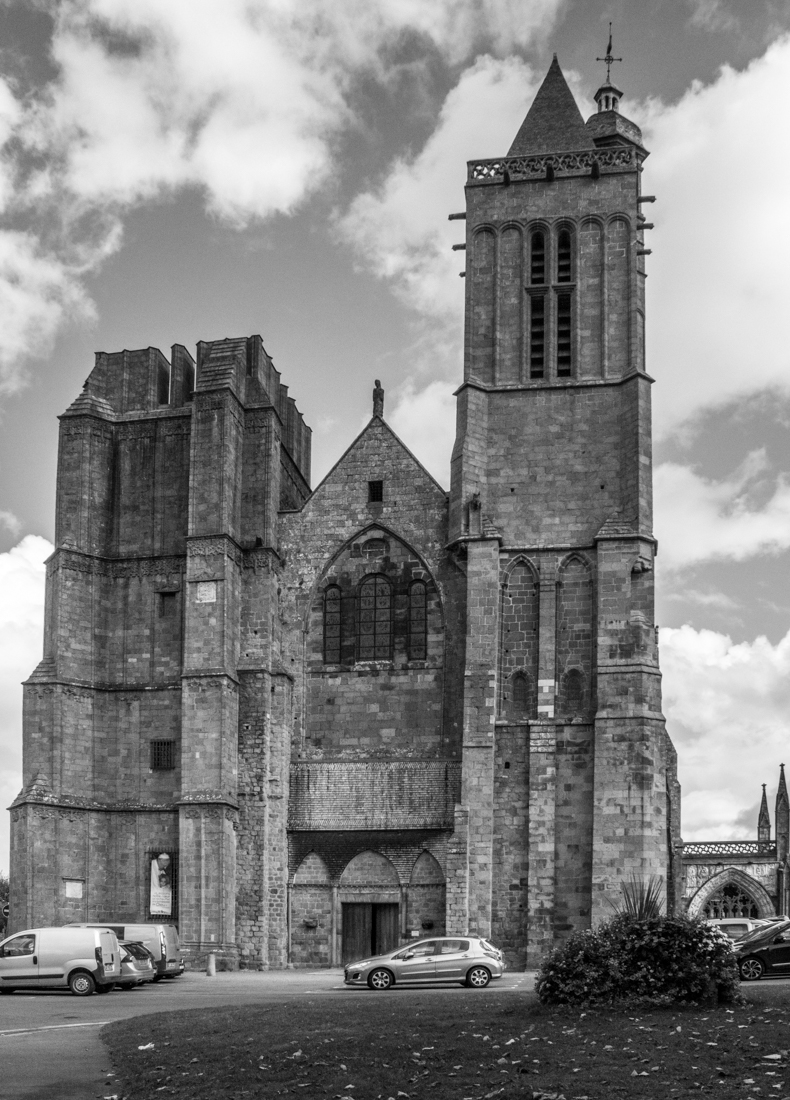 The West Facade of the Cathedral of St Samson, Dol de Bretagne