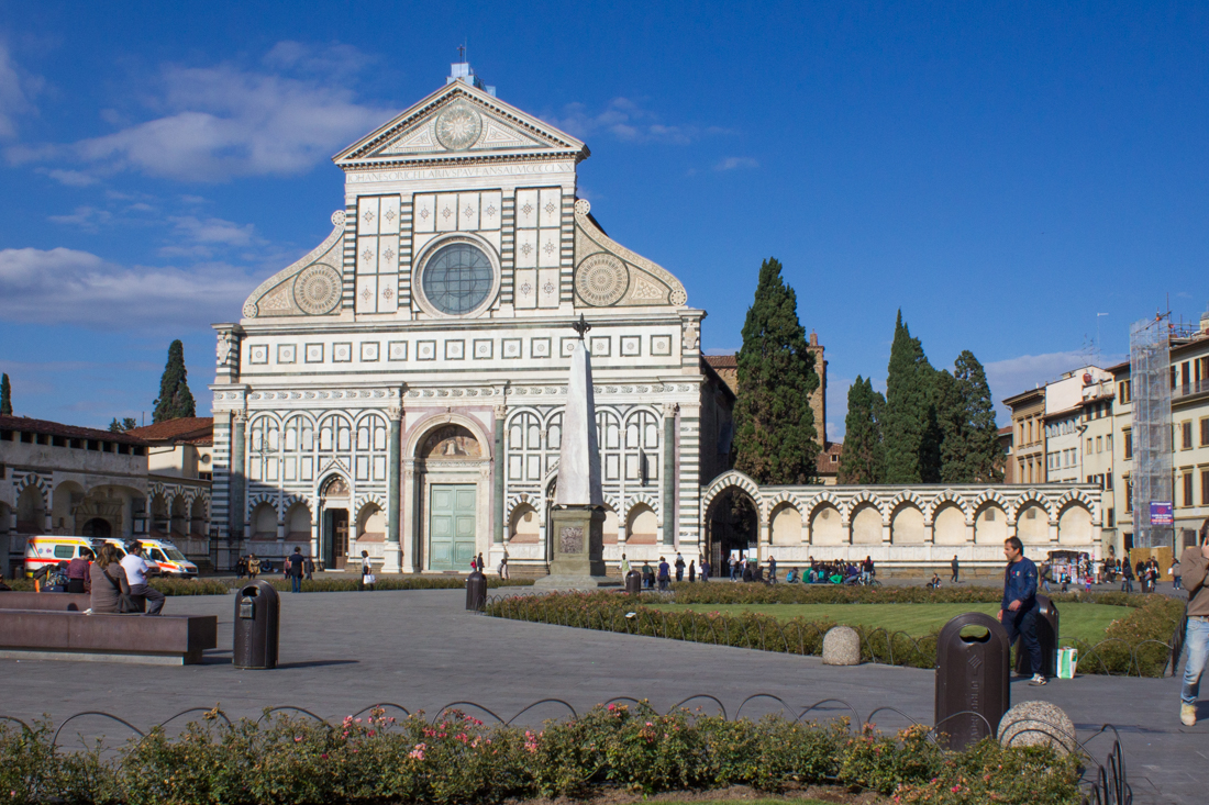 The Church of Santa Maria Novella, Florence