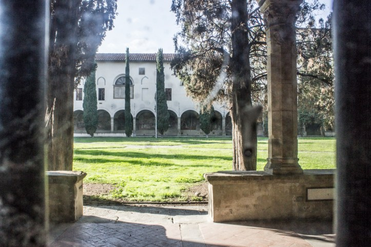 The Large Cloister, Santa Maria Novella