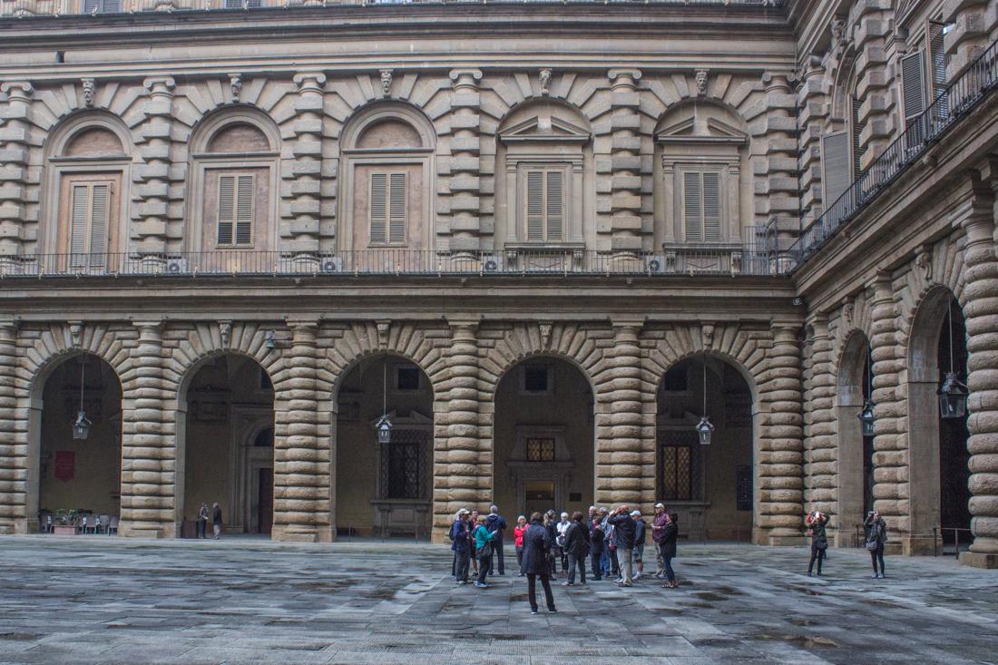 The Pitti Palace, Florence