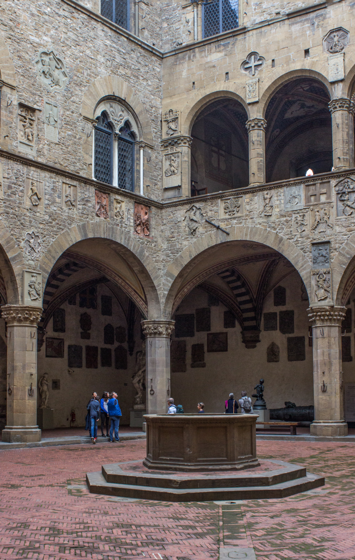 The Courtyard of the Bargello Museum