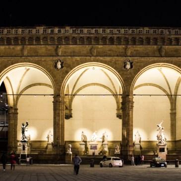 The Piazza della Signoria, Florence