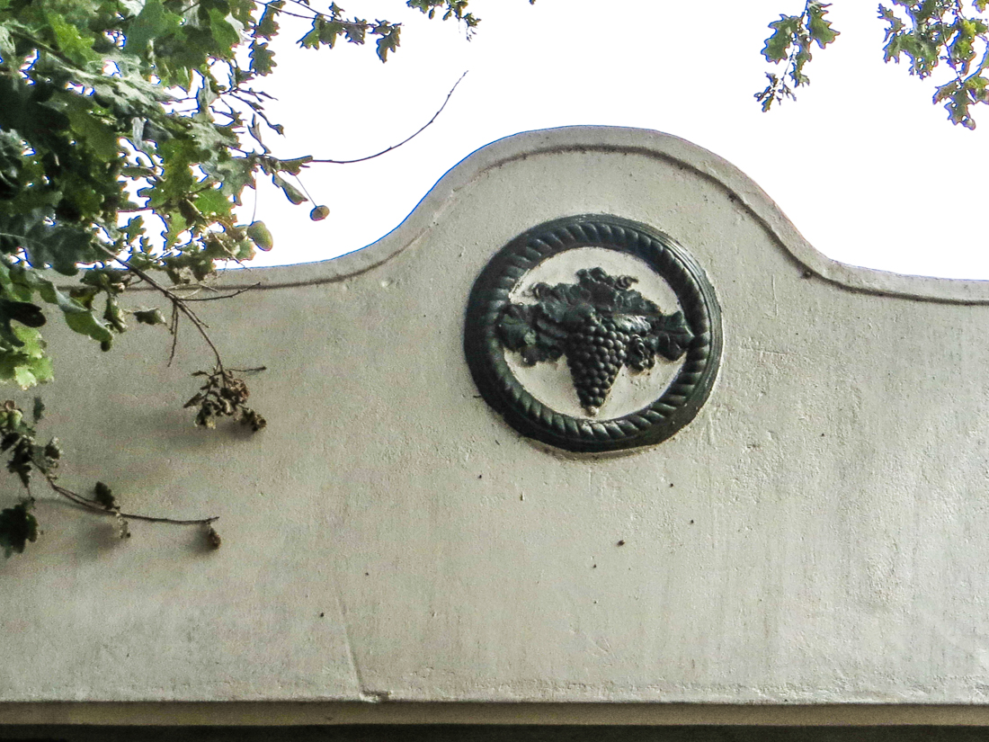 On a house in Bain Street, Wellington