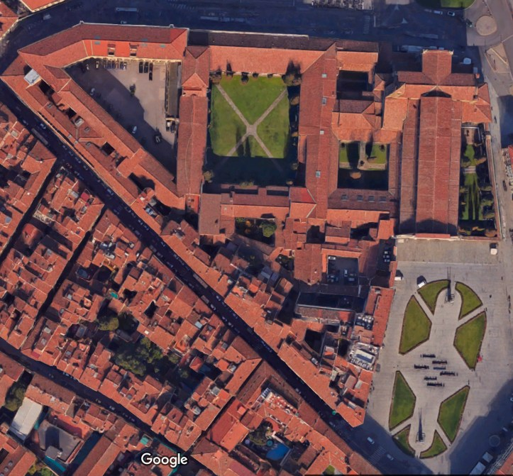 Google map of Santa Maria Novella