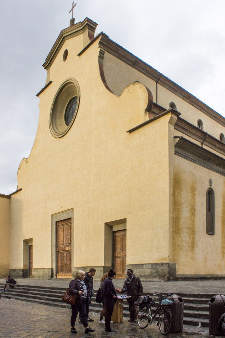 The Church of Santa Spirito