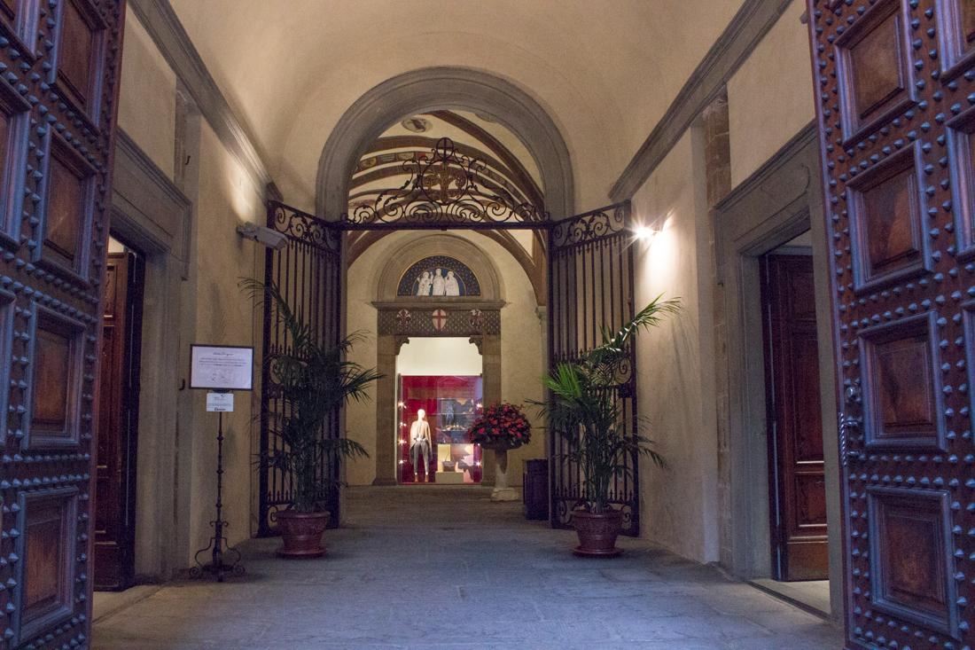 The Spini Ferroni Palace entrance