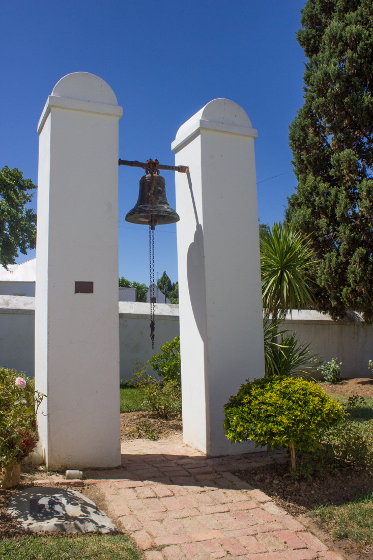 The slave bell in the old Church, Tulbagh
