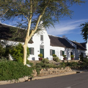 Historic Houses in Church Street, Tulbagh
