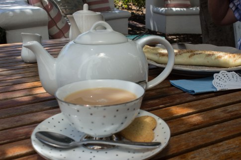 Tea & pancakes at The Teacup