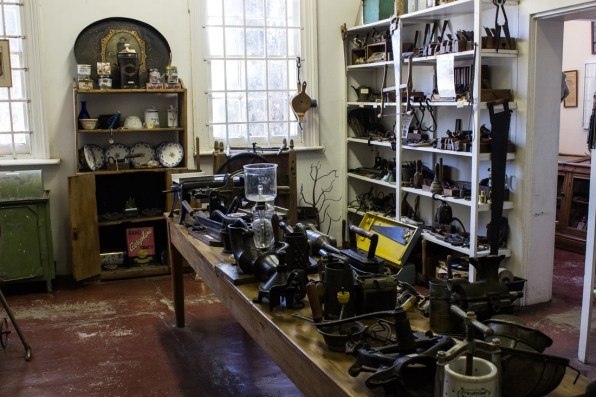 The Museum in the old station of Matjiesfontein