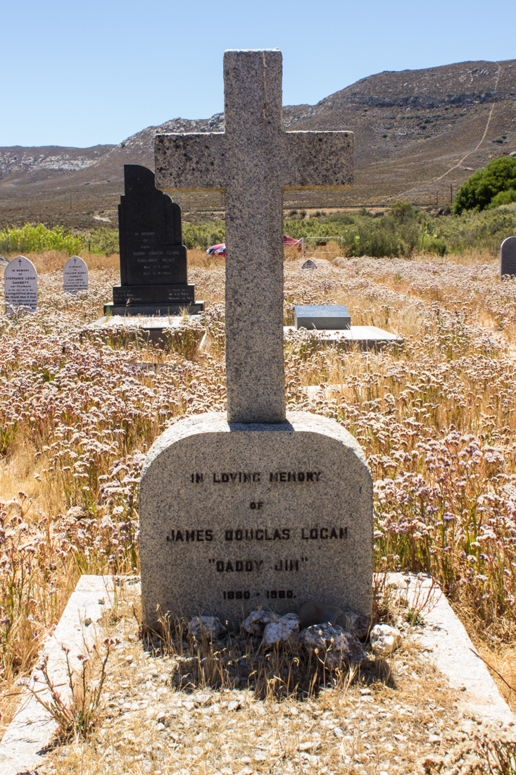 James Logan's son's grave, Matjiesfontein