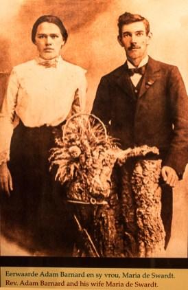 Christiaan Barnard's parents