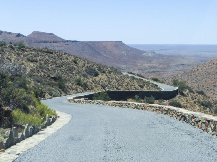 Klipspringer Pass in the Karoo National Park