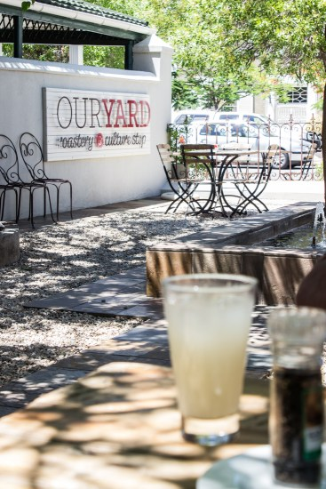 Our Yard Cafe, Graaff Reinet
