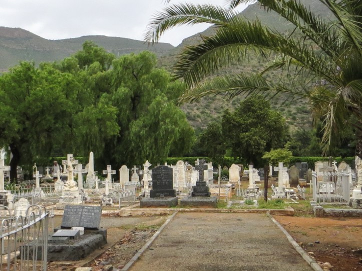 St James Church graveyard, Graaff Reinet