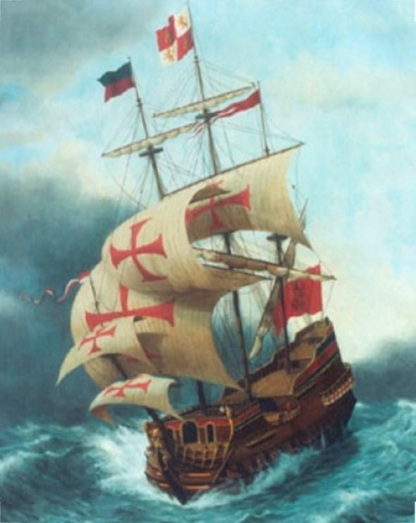 17C & 18C Portuguese Galleon