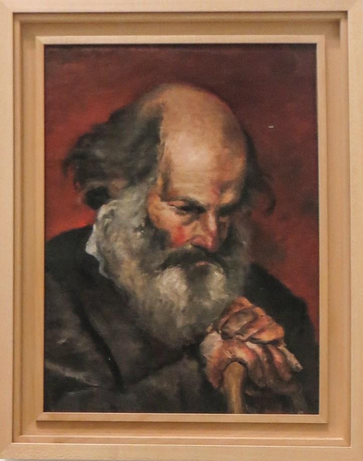 PIcasso, Portrait of a man, 1895