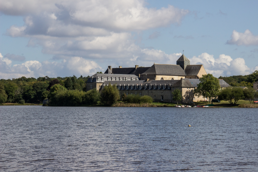 View of the Abbey from the opposite side of of the Lake
