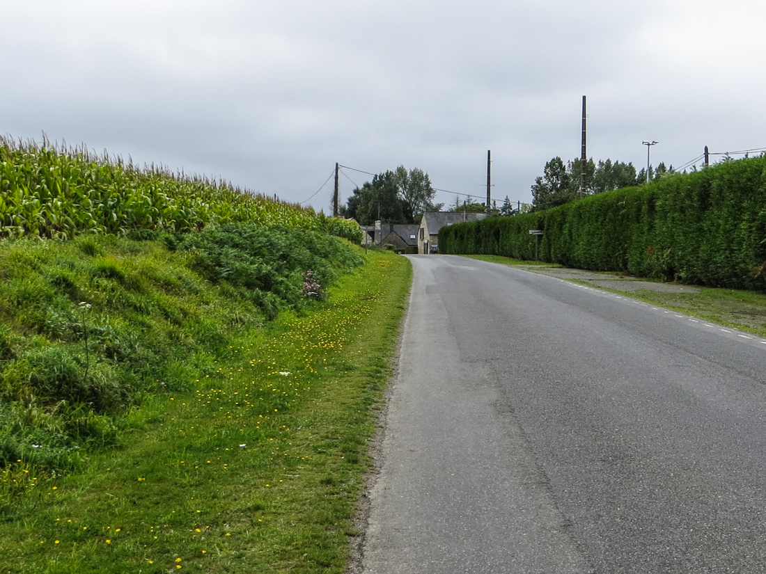 The road out of Tredaniel