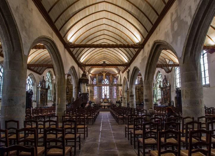 The Church of Lampaul-Guimiliau