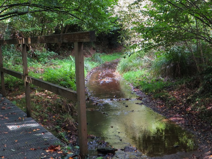 Walking outside Le Cloitre-Pleyben