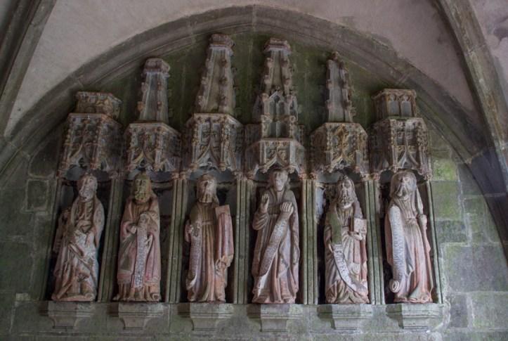 The Apostles in the South Porch, Notre Dame de Rumengol