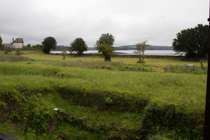 The view from the Abbey to the River Aulne