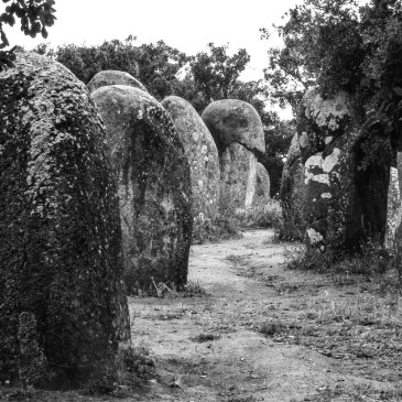 Megalithic sites in Portugal – Cromlech de Almendres