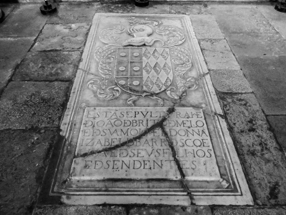 The tomb of a Knight of the Order of Santiago