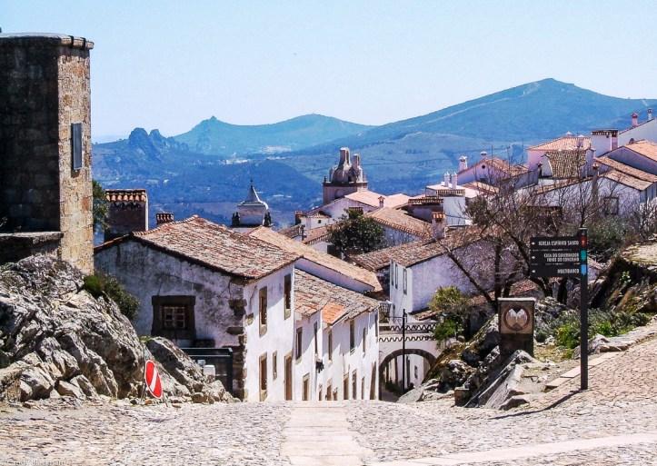 Marvao, looking towards Castelo do Vide