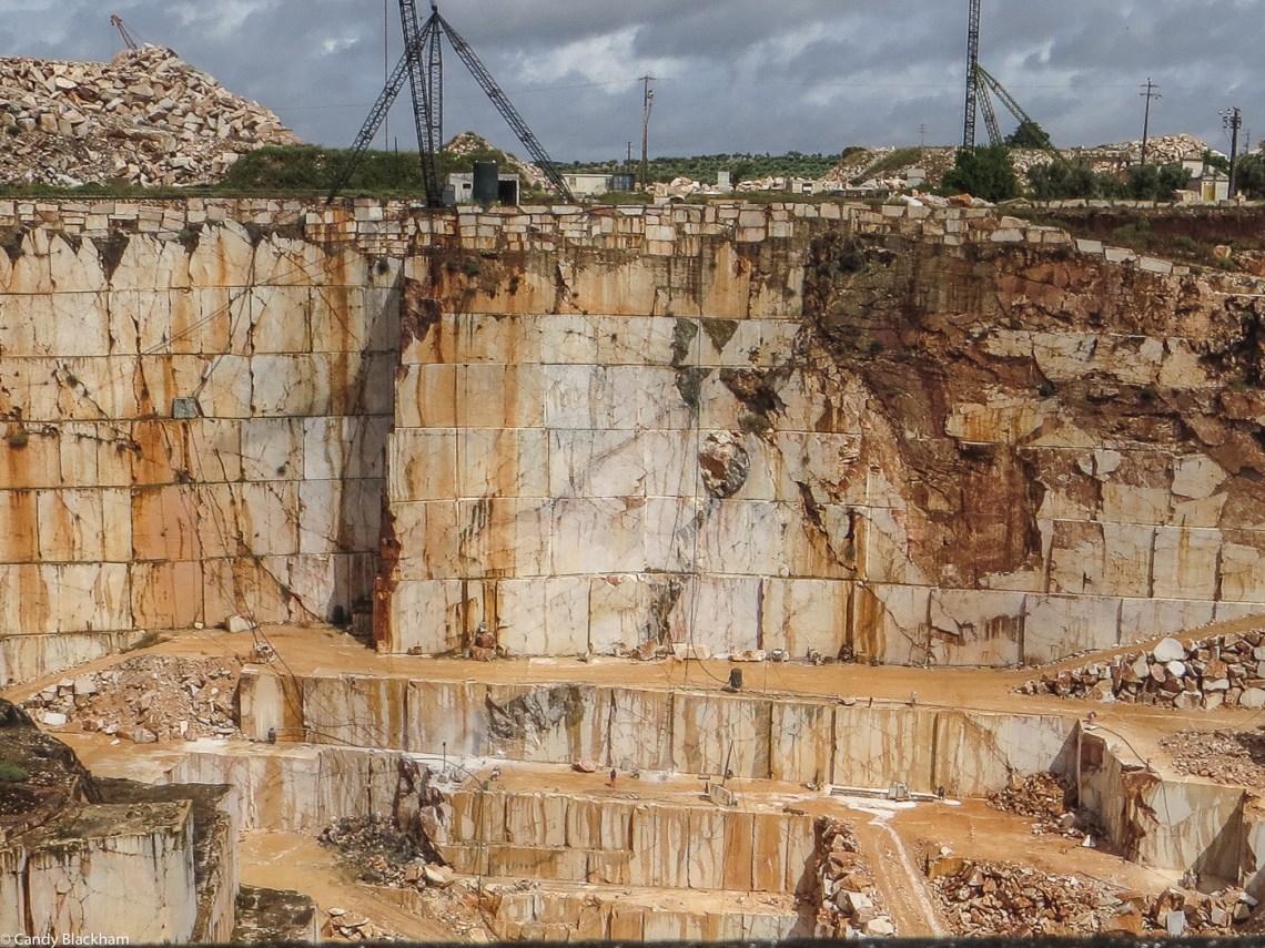 Marble mining at Vila Vicosa