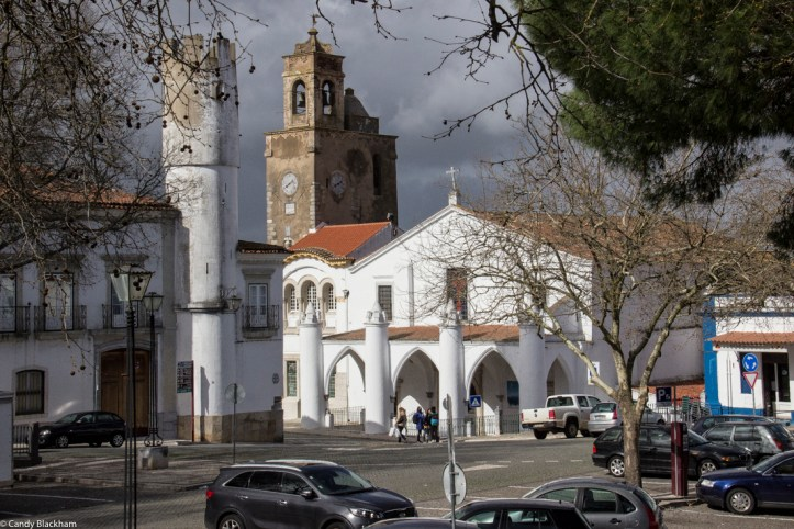 The Church of Santa Maria, Beja