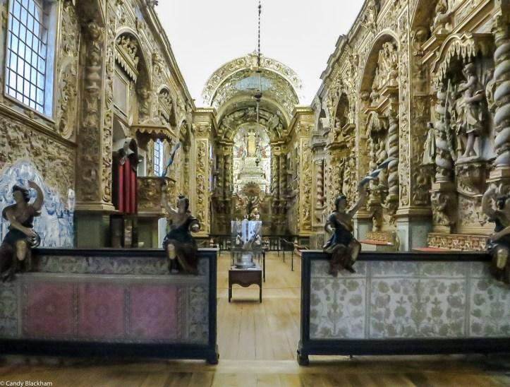 The original Church of the Convent of Nossa Senhora da Conceicao