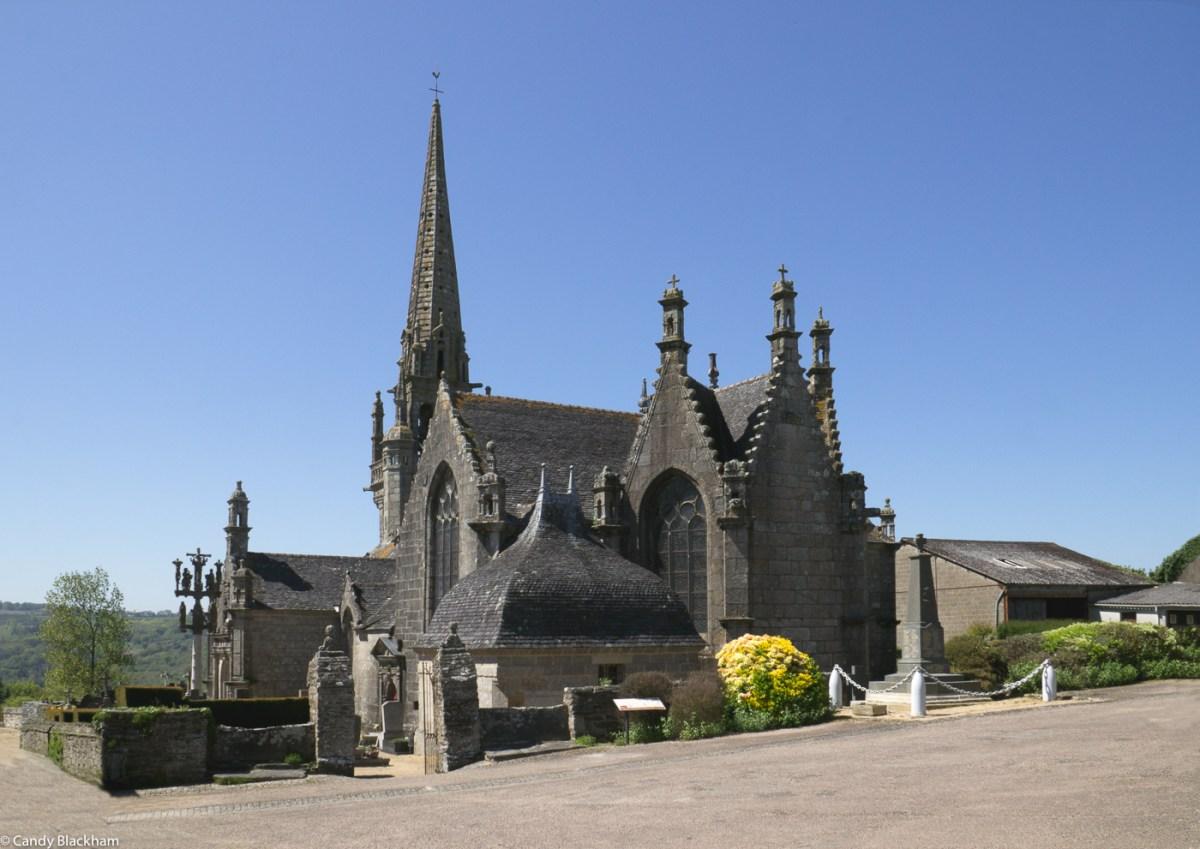 The Church of St Melar in Locmelar