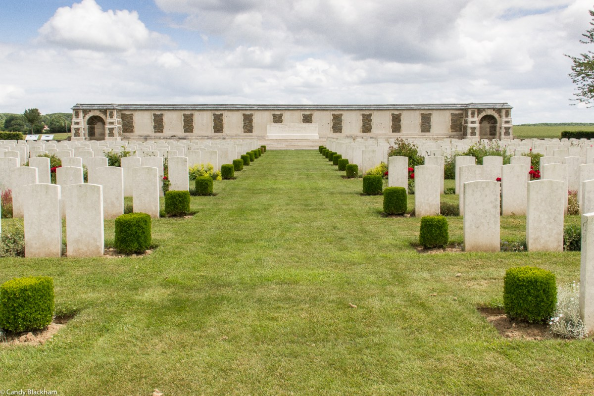The New Zealand Cemetery in Caterpillar Valley Cemetery