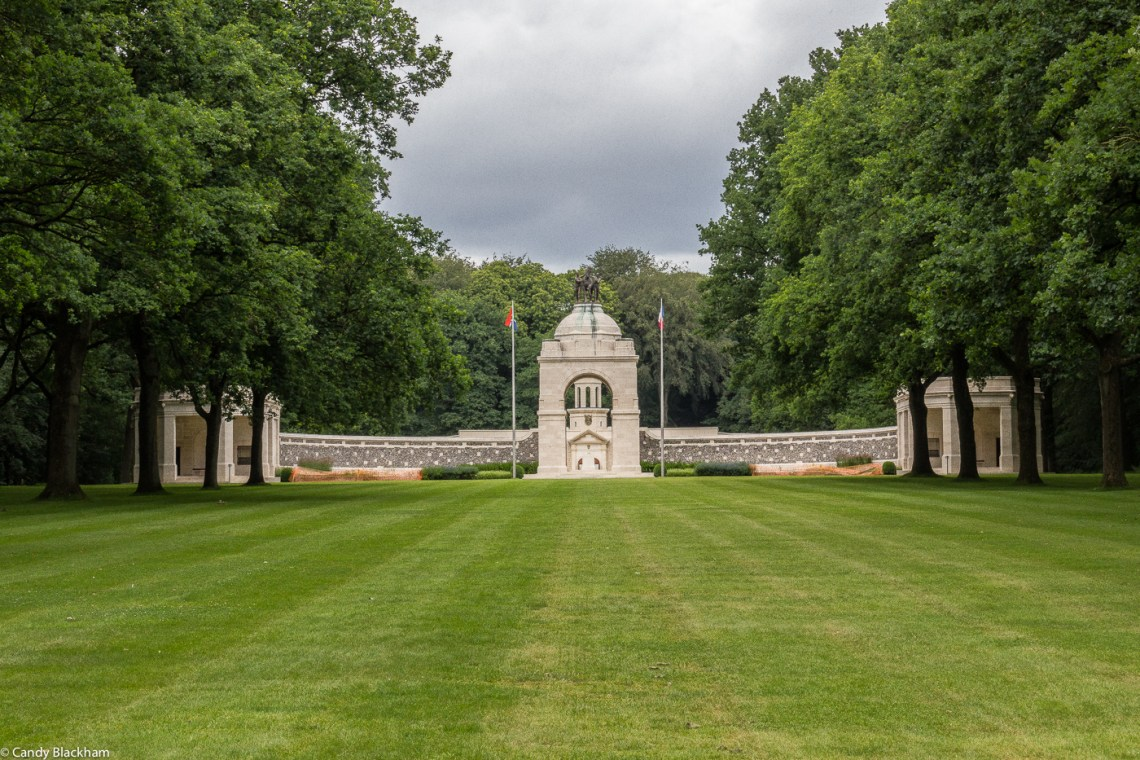 The Memorial to the South African in Delville Wood