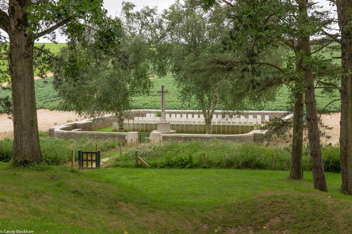 Railway Hollow Cemetery, Hebuterne