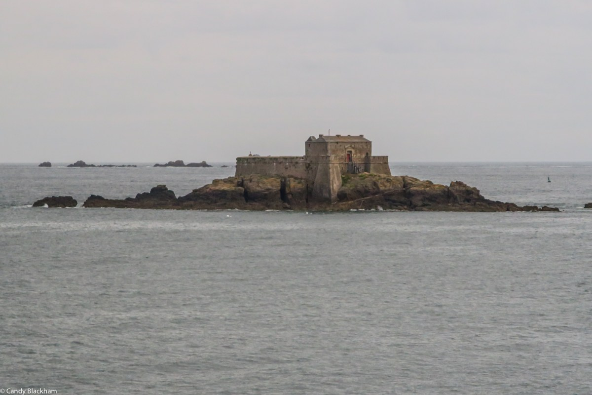 Fortifications outside St Malo