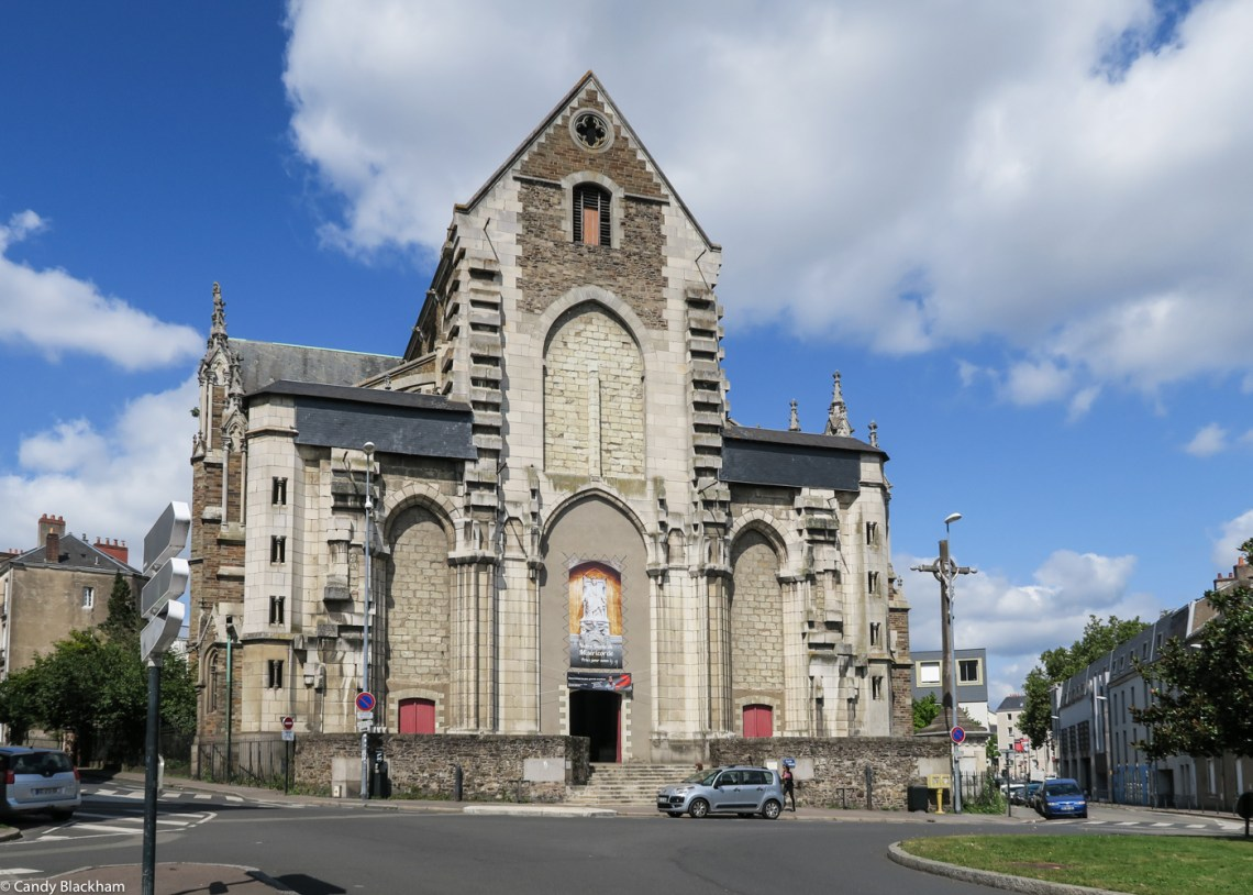 The Church of St Similien, Nantes