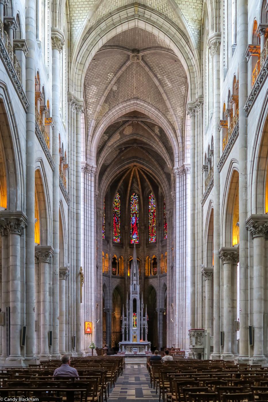 The Church of St Nicolas, Nantes