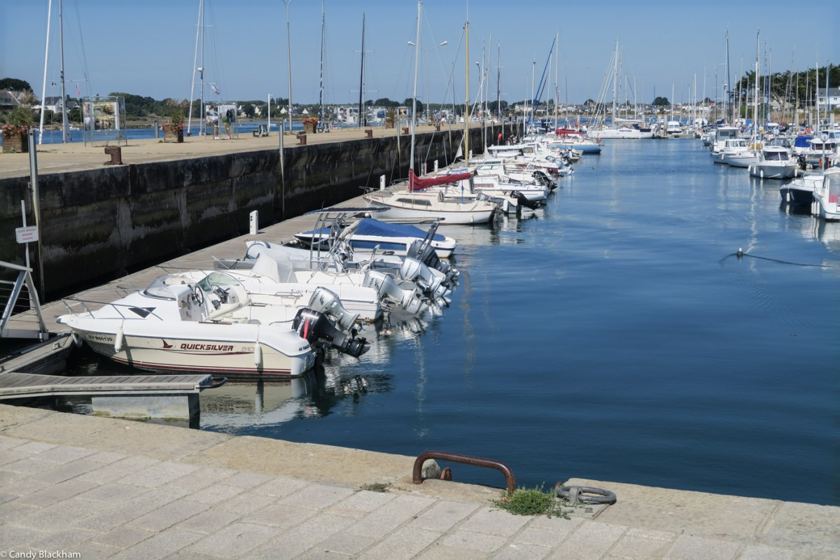 The marina in Etel today